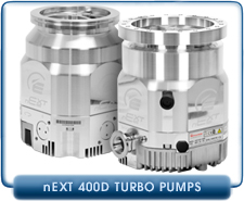 Edwards nEXT400D Compound Turbomolecular Vacuum Pump, 400 l/s, ISO-160 or Conflat CF 8 inches Inlet, 80 or 160 Watts, B83200300, B83200301, B83200400, B83200401