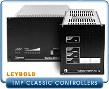 Leybold Oerlikon TurboDrive, TD20, TD 20, Classic, Turbo Pump Controller, Heraeus TurboTronik NT 10 Turbo Molecular Pump Controller