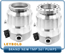New Turbo Pumps -  Leybold TMP TurboVac 361