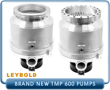 New Turbo Pumps -  Leybold TMP TurboVac 600