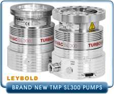 Oerlikon Leybold TURBOVAC SL 300 Turbo Molecular Vacuum Pump 6 inch CF/Conflat and ISO100 Intake.