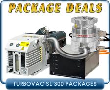 Oerlikon Leybold Turbovac SL-300 Turbomolecular Vacuum Pump System, ISO100 & CF 6 in inlet, OEM Package Deal