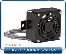 Edwards Axial Air Cooling Fan For Edwards nEXT 240, 300, & 400 Turbo Pumps, 24 VDC,