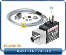 Edwards TAV5 Vent Valve for EXT Turbo Pumps, 24V DC 1/8 BSP, 1.8 Watt Max.,
