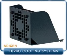 Pfeiffer Adixen Cooling Fan Unit For MDP-5011 Turbo Drag High Vacuum Pump. PN 118809