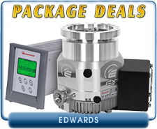 Edwards nEXT240D 80 Watts Turbo Pump ISO-100 Inlet, with TAG Turbo Controller with Power Supply