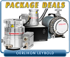 Oerlikon Leybold Turbovac SL80 Dry Turbo Vacuum Pump Package Deal, ISO-63 inlet, SC5D Dry Scroll, D4B and D8B TriVac Pumps