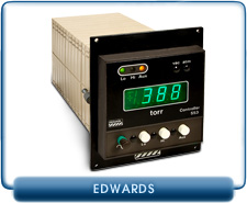 Edwards 553 Pirani Convection Controller & Pressure Gauge with KF10 EPS10-HM Sensor