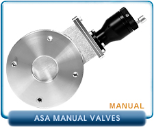 HVA ASA ANSI 2, 4, 6 inches Manual Gate Valve, 2.0, 4.0, 6.0 inches ID, Viton Seals, 4, 8 Bolt SS Stainless Steel