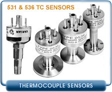 Varian Thermocouple Gauges Sensors