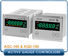 Agilent Varian AGC-100 Active Gauge Digital Control Unit, Single Channel, One Vacuum Sensor, AGC100 AGD100