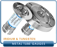 NEW Agilent Varian MBA-100 Metal Bayard Alpert Ionization Gauge, Iridium Filament, KF25 flange