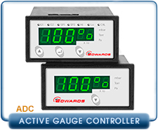 Edwards Active Digital Pressure Controller ADC Enhaned MKII Version, Standard version, Enhaned MKII Certificated