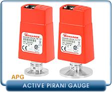 Edwards APG100-XM, APG100-XM, APG100-XLC, Active Pirani Vacuum Gauge NW16, KF16, KF25, 10-3 Torr, 10-4 Torr