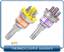 Edwards ATC-E Electronic Module for ATC D-M, 1/8 in. NPT Thermocouple Gauge Tubes, 10-2 to 10-3 Torr