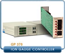 Granville Phillips 370 Stabil-Ion Vacuum Gauge Controller, 115 VAC. Card Module fro GP 370 Controller