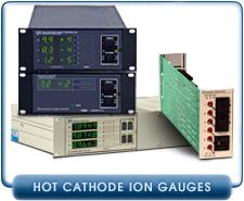 Granville Phillips 307, 350, 370 Ion Gauge Controllers, Bayard Alpert Sensor, Glass, Iridium, Tungsten