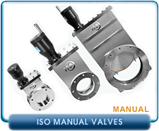 HVA Manual Gate Valve. Viton Gate and Bonnet Seals.