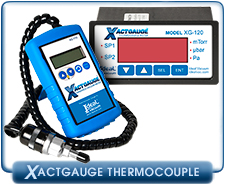 XactGauge Thermocouple Vacuum Gauges, Portable Digital TC Vacuum Gauge,Vacuum Rack TC Gauge Controller, XG-110, XG110, XG-120, XG-120e, XG120, XG120e