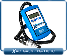 XactGauge Thermocouple Vacuum Gauges, Portable Digital TC Vacuum Gauge, XG-110, XG110
