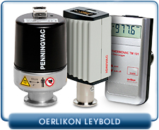 New Oerlikon Leybold PENNINGVAC ITR 90 and PTR 90 Pirani with a Cold Cathode Ionization Sensor Gauge, 230070