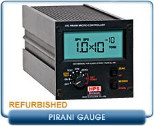 MKS HPS 315 Pirani Micro-Controller Rough Vacuum Gauge Controller, Refurbished, MKS Convectron Gauges, MKS Convectron Sensors