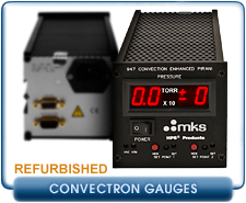 REBUILT MKS 947 Digital Convection Pirani Vacuum Gauge Controller for MKS 317 Pirani Vacuum Sensors
