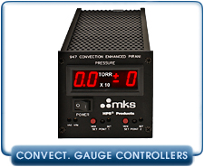 MKS HPS 947 Digital Convection Pirani Vacuum Gauge Controller for MKS 317 Pirani Vacuum Sensors