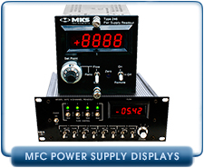 MKS 246 Single Channel Mass Flow Controller MFC Used Power Supply Readout, MKS 247 Four Channel Mass Flow Controller Power Supply Readout Refurbished