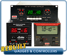 MKS Capacitance Manometers, Cold Cathode Gauges, Hot Cathode Gauges,  Controllers
