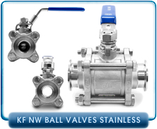 Vacuum Ball Valves - Manual Vacuum Ball Valves