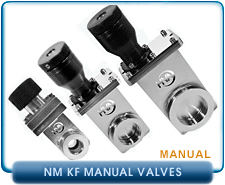 HVA Manual Gate Valve. Viton Gate and Bonnet Seals, Stainless Steel.