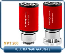 Pfeiffer MPT200 Compact Full Range Guage KF16 CF 1.33
