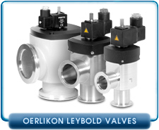 Oerlikon Leybold SECUVAC Vacuum Safety Solenoid Right Angle Valve, KF16, KF25, KF40, ISO-LF63 & LF100, 115VAC,