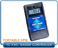 New Teledyne Hastings HPM Series Thermocouple Pressure Gauges & Controllers