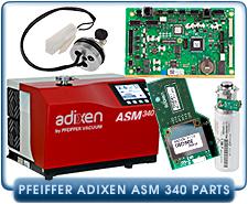 Helium Leak Detector Parts Pfeiffer Adixen ASM340