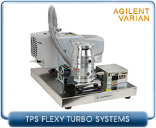 Agilent Varian TPS-Flexy system w/TwisTorr 84 FS Turbo, ISO63 inlet, IDP3 Scroll & Onboard Controller on Compact Mounting Platform