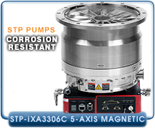 Edwards STP-iXA3306C 5-axis Magnetic Bearing Turbo-Molecular Pump