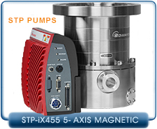 Edwards STP-Pumps-iX455 5-axis Magnetic Bearing Turbo-Molecular Pump CF 8 in., DN-160 Inlet