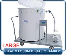 Ideal Vacuum Degas Chambers Large