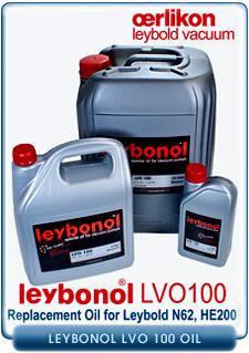 Oerlikon Leybold Leybonol LVO-100 Rotary Vane Vacuum Pump Oils, Replacement For Oerlikon Leybold HE-200, N62