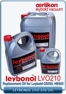 Oerlikon Leybold Leybonol LVO-210 Vacuum Pump Oil