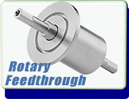 Rigaku Superseal Shaft Ferrofluid Rotary Motion Feedthrough Feedthroughs