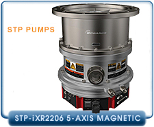 Edwards STP-iXR1606 5-axis Magnetic Bearing Turbo-Molecular Pump