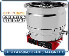 Edwards STP-iXA4506C 5-axis Magnetic Bearing Turbo-Molecular Pump