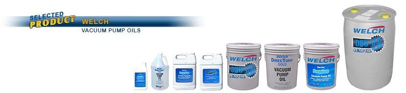 Welch Vacuum 1407K-15 Duo Seal Pump Oil 1 gal
