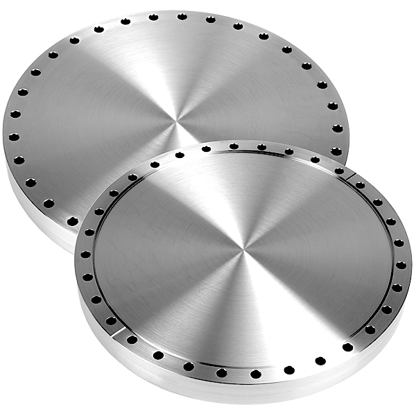 Conflat flange cf blank through non rotatable