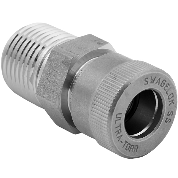 Ideal Vacuum | NPT Fittings And Adapters, MNPT To Swagelok
