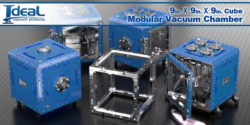 0.4 Cu Ft Modular Vacuum Chamber