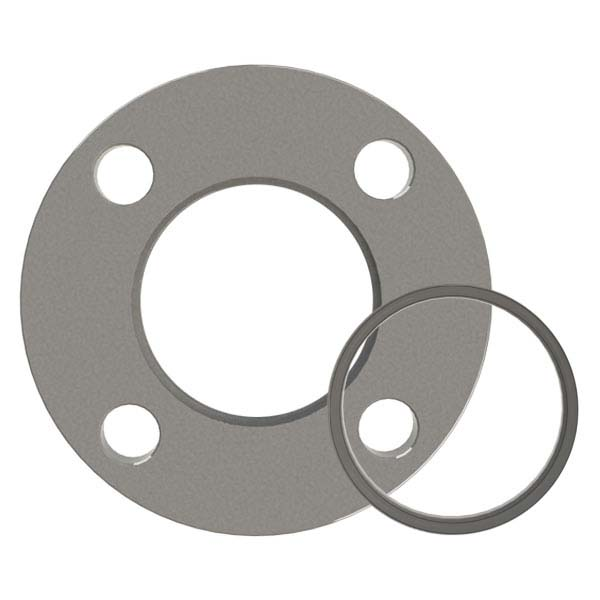ASA Flange, 1 Inch, Fixed Bored Flat Weld On Vacuum Flange, with O ...